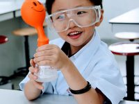 Young Scientist in Action